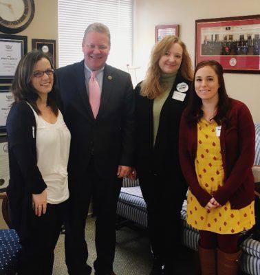 MHC staff with state senator Bill Stanley
