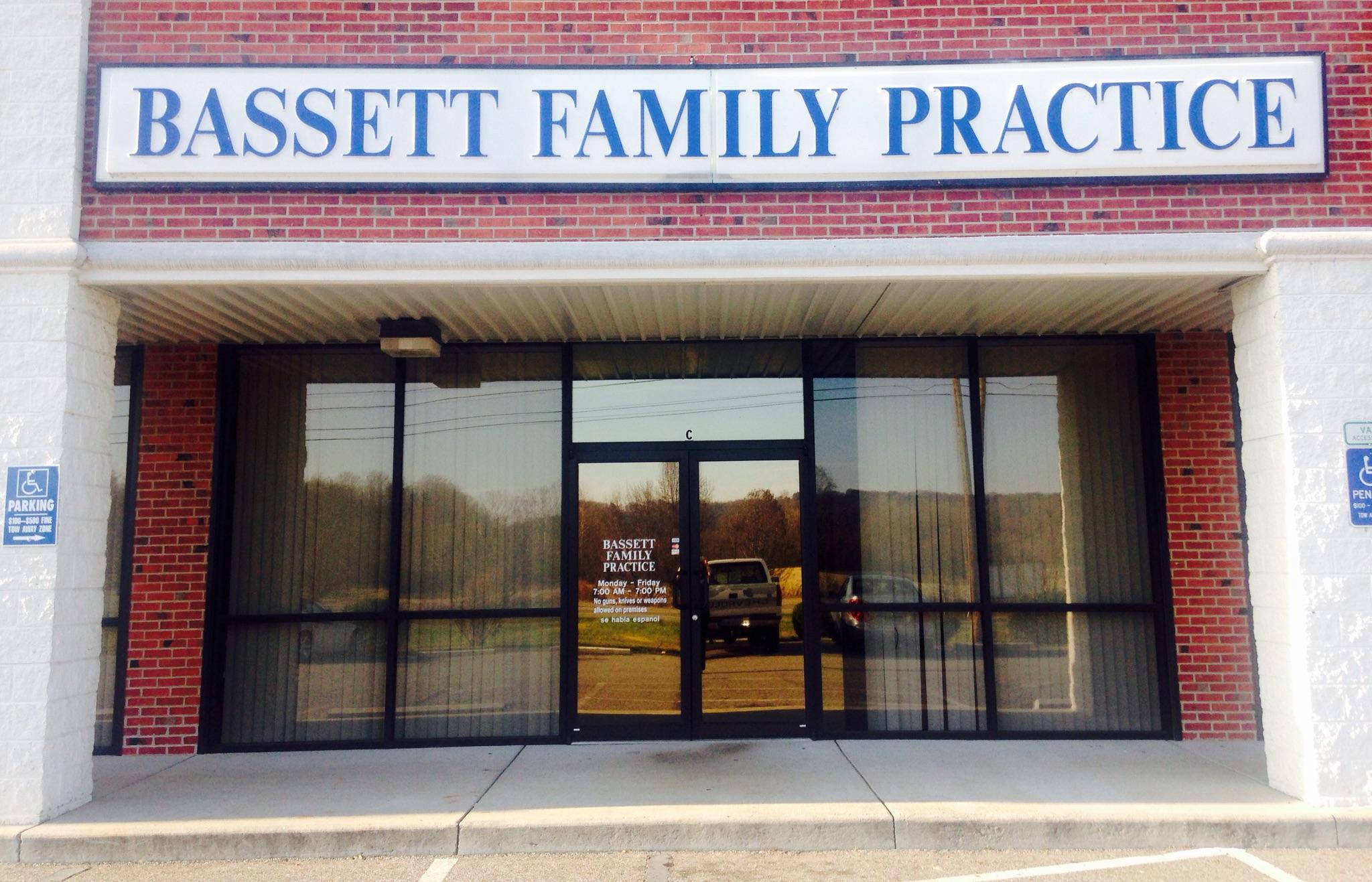 exterior of Bassett Family Practice