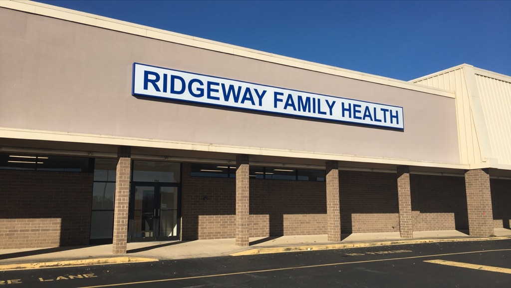exterior of Ridgeway Family Health