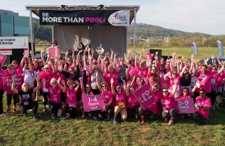 The crowd at Race for the Cure