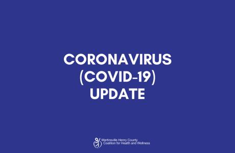 Coronavirus update text