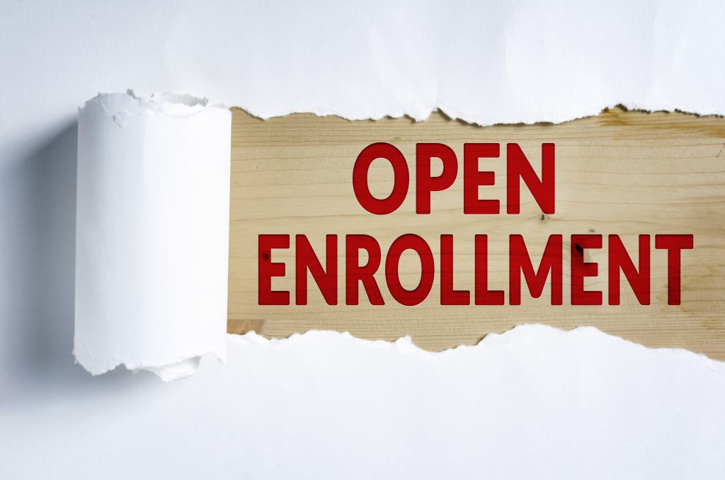 Open Enrollment in text